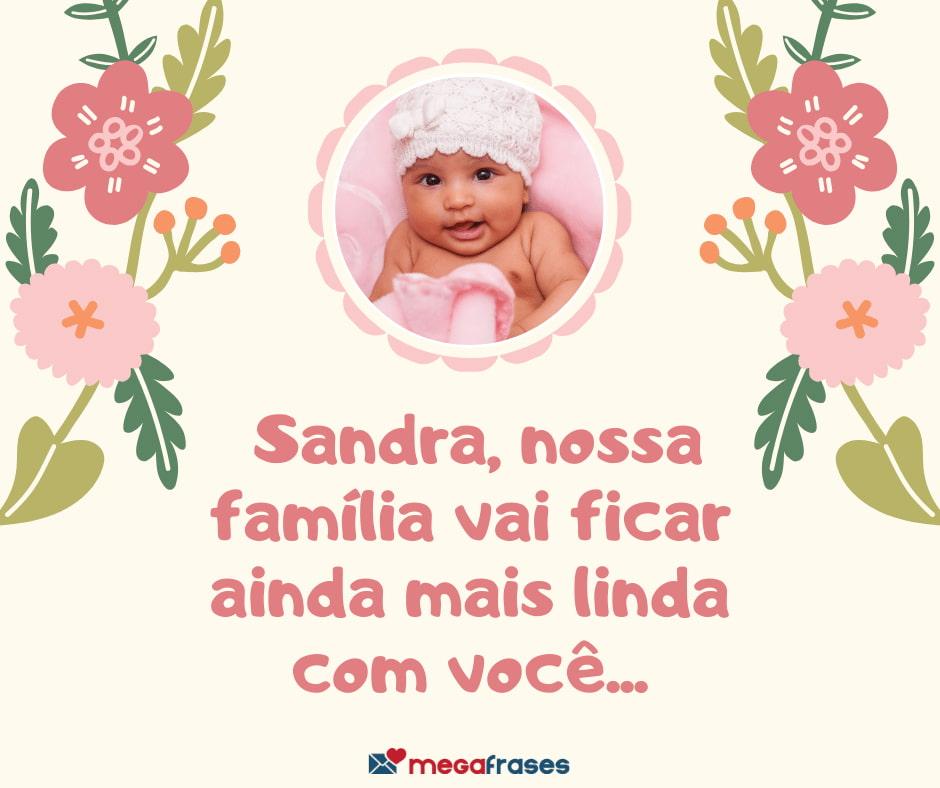 megafrases-carinho-para-Sandra-linda