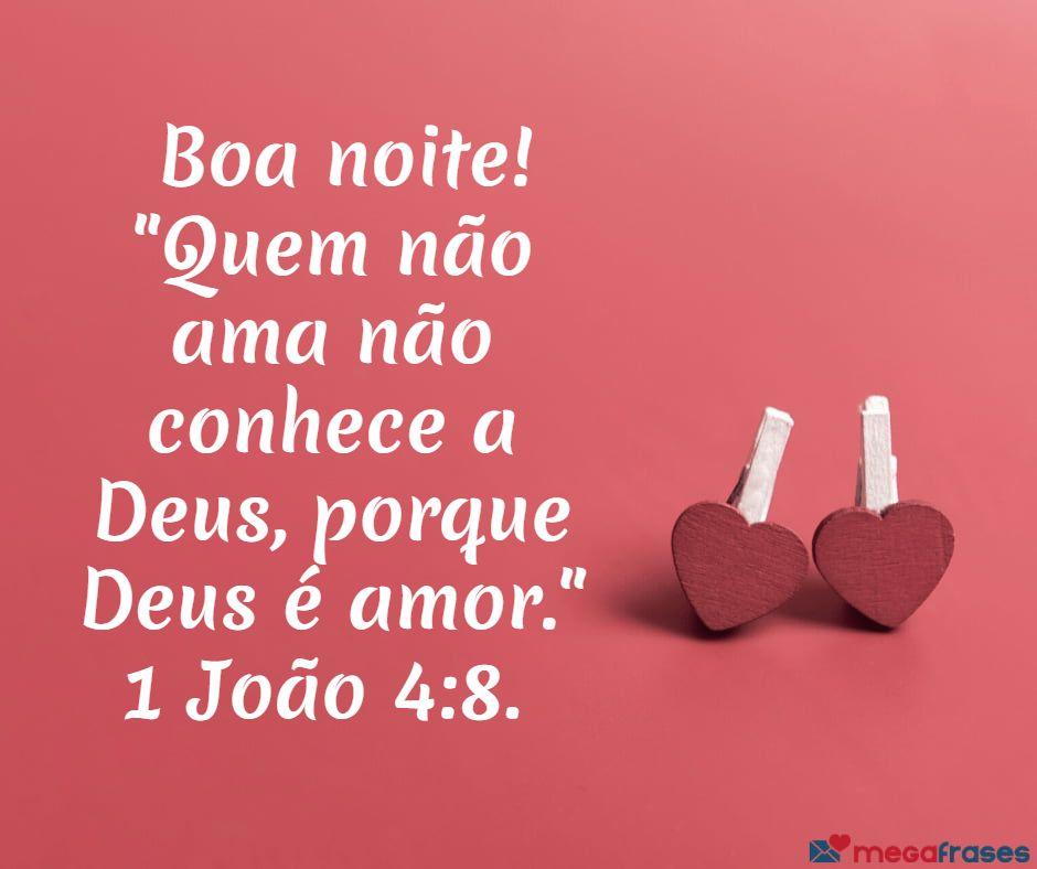 Mensagens de Boa Noite de Deus - Compartilhe o Amor Divino! 💒