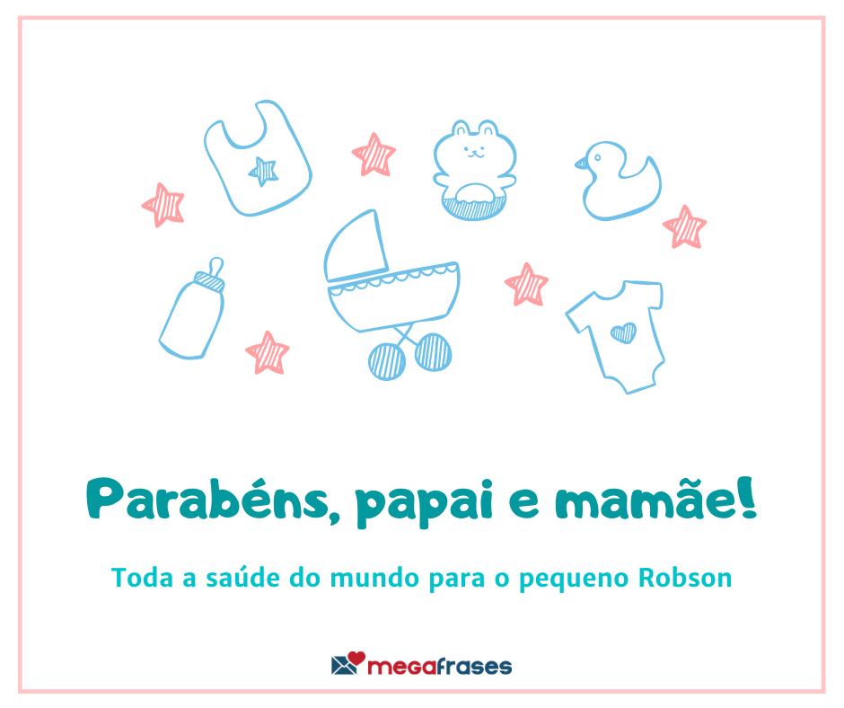 megafrases-parabens-papais-robson